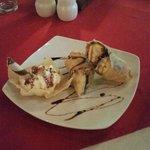 Crispy Banana Roll Dessert