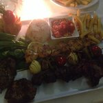 Mixed grill was my favourite , meat ball kofte and moussaka all tasty .  Fully recommend.  Kev