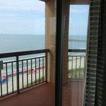 Ocean front bed room