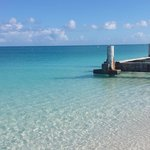 The old pier near Club Med