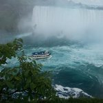 Overlooking Horseshoe falls after Journey Behind the Falls