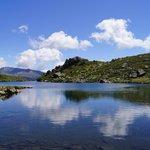 Vue depuis le deuxième lac
