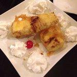 Cheesecake tempura