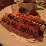 Complimentary dessert!