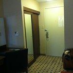 Fro mthe room, looking towards the door.