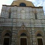 Facciata del Battistero di Siena