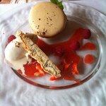 un dessert plus que parfait