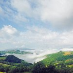 Il panorama di Borgo Santa Cecilia