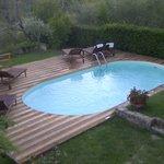 piscina con vista su Firenze