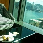 The club lounge afternoon tea
