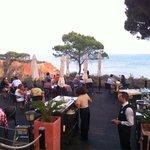Restaurante Basilico. Vista incrível, comida italiana bem confeccionada. Couvert e entradas 5*!
