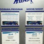 Teen Club Schedule