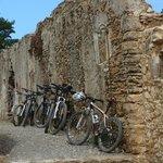 Pause für die Bikes