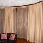 Liked the all round curtains....lol