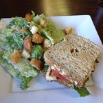 Salad and Sandwich Lunch Combo