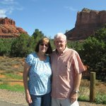 Roger & Marcella at Sedona