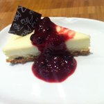 Great cheesecake at the buffet
