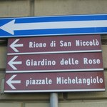 sign to Piazzale