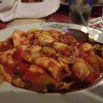 Shrimp Palermo with Artichoke Hearts and Mushrooms (10 BIG Shrimp!)