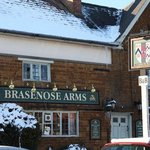 Brasenose Arms in winter