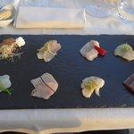 Fisch-Carpaccio mit 8 Marinierungen