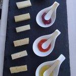 9 Mal Asiago Käse mit 4 Chutneys