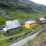 Lovely houses.  Views from Flam railway
