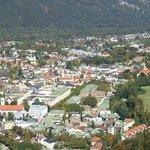 Blick auf Bad Reichenhall von der Predigstuhlbahn