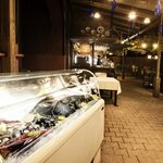 Enjoy fresh fish, king crabs, lobster, percebes, coquilles St-Jacques, and more!