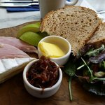 Ploughman's at Mrs Jones Kitchen, yummy!!