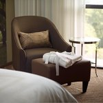 While enjoying Concierge Level Accommodations, relax in the provided robe!