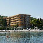 hotel widok od morza
