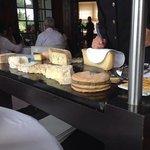 le chariot de fromage