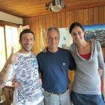 Martin, Paulo and Luciana