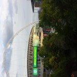La vue sur le stade de Wembley depuis notre chambre
