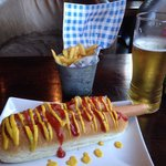 Classic IT hot dog - divine