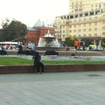 Fountain in front of Bolshoi
