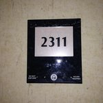 Room 2311 - I forgot to take a picture of the TV.