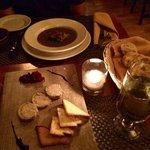 Foie Gras, Mushroom Soup