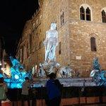 Piazza Signoria la sera