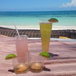 Excellence Club Beach Bed With Drinks
