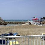 beach view from ocean room