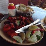The best chicken tikka iv tried on the beach :)
