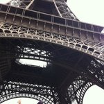 at the tour de eiffel