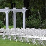 Outdoor Wedding Reception Area/Set-up