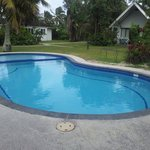 Very small pool but impecably clean