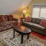 Living Room of Deluxe 2 Bedroom Suite
