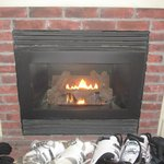 We loved having the fireplace in our room!