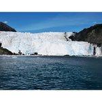 Close to glacier