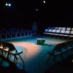 The indoor Burdine Johnson Studio Theatre